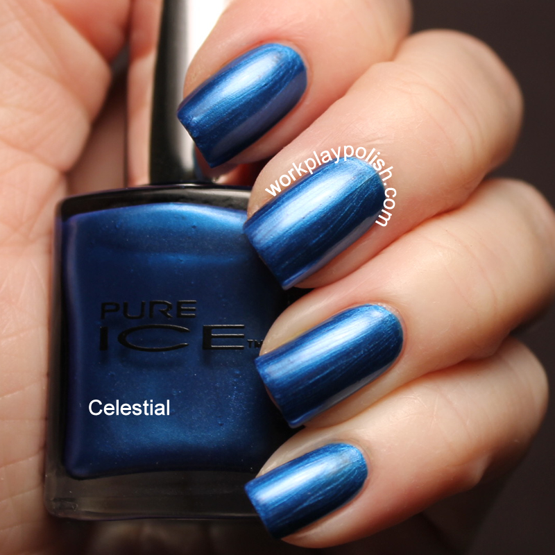 Pure Ice Celestial Swatch (work / play / polish)
