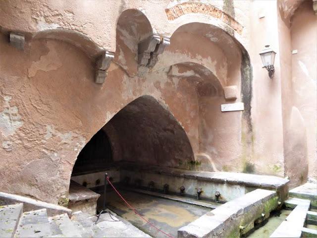 lavatoio medievale di Cefalù