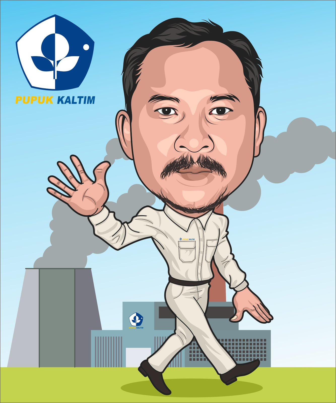Jasa Desain Wajah: Jasa Disain Vektor Kartun, Karikatur, Siluet, LineArt