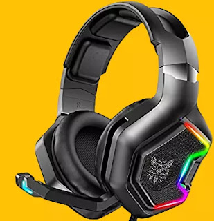 gaming headset with mic monitoring