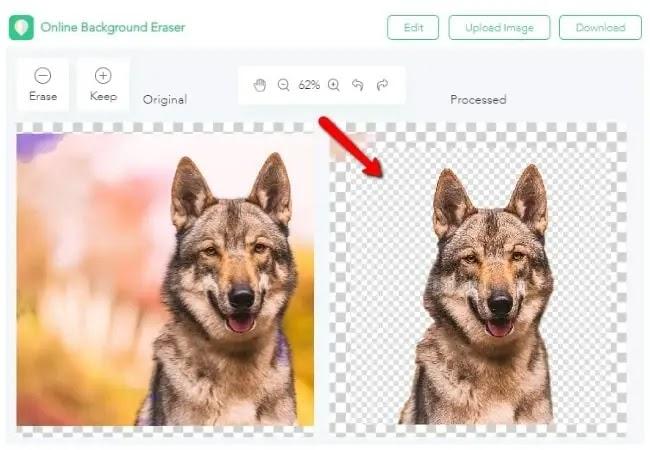 تفريغ الصور مجاناً ( إزالة الخلفية ) في الحواسيب العاملة بنظام ماك