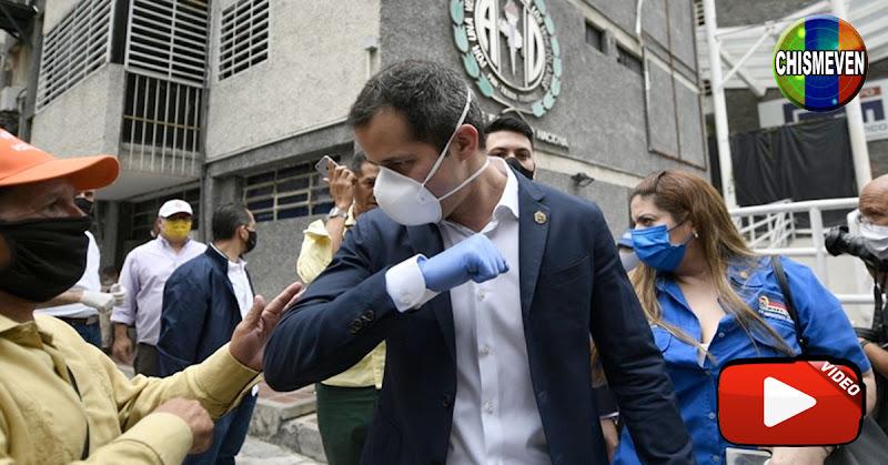 Guaidó anuncia llegada de protección para médicos pero no dice nada acerca de los 100 Dólares
