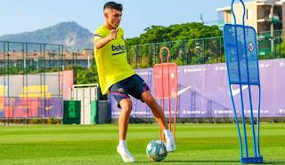 Barcelona new coach Koeman backs Pedri and Trincao to stay with the first team