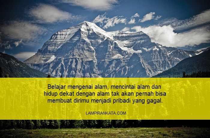 Kata-kata Bijak Pendaki