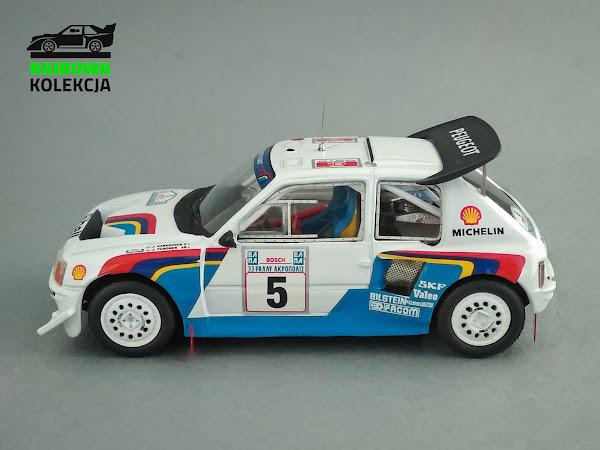 IXO RAC119 Peugeot 205 T16 E2, Zwycięzca Rajdu Akropolu 1986