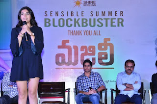 Divyansha Kaushik At Majili Movie Success Meet