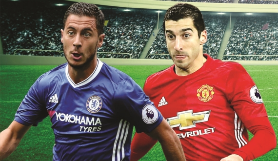 Chelsea host FA Cup holders Manchester United in what promises to be a mouth-watering fixture.
