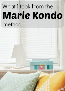 What I took from the Marie Kondo method - my own interpretation