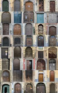 40 Doors of Bergamo - Composite Image - Wonder and Passage
