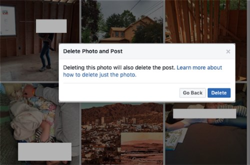 How To Delete Images From Facebook