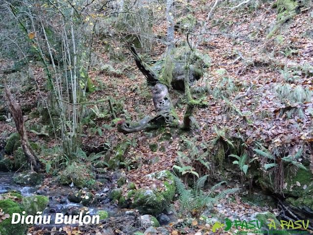 Diañu Burlón en la ruta de Beyu Pen
