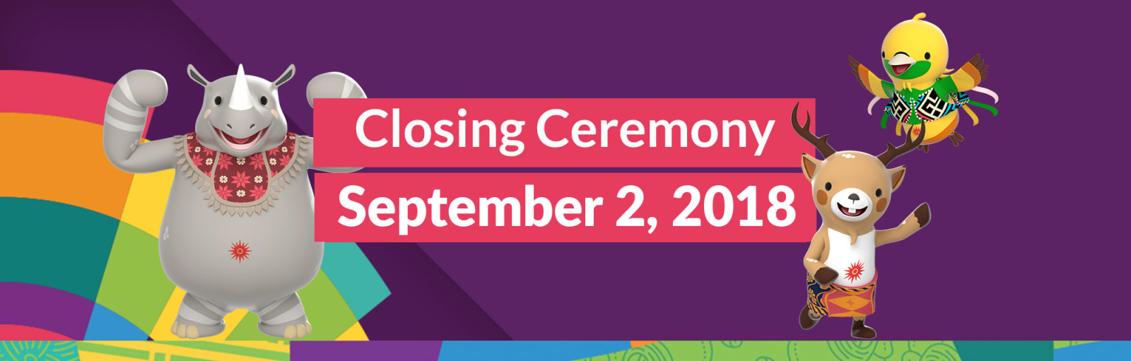 Nonton Full Closing Ceremony Asian Games 2018