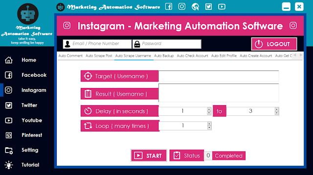 Cara Cepat Mengambil Username Instagram Secara Automatis