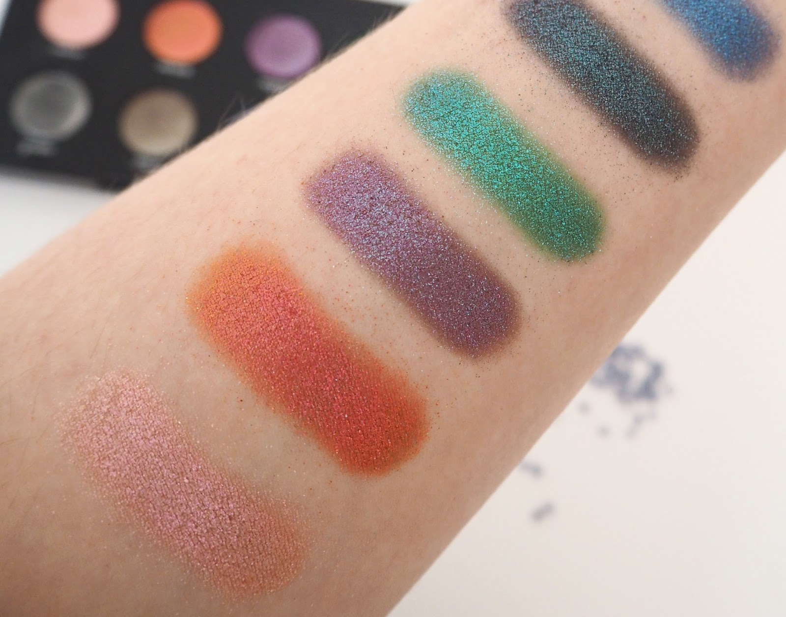 Urban Decay Moondust Palette, Swatches, Beauty Blogger, Urban Decay Review, Eye Shadow Swatches, Make Up Blogger, Make Up Review, Make Up Palette, Eye Shadow Palette, UK Blogger,