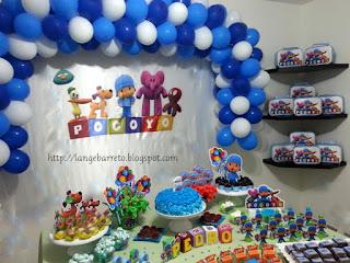 Aniversário Pocoyo