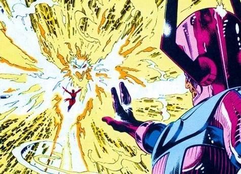 Jean Grey fue contra Galactus
