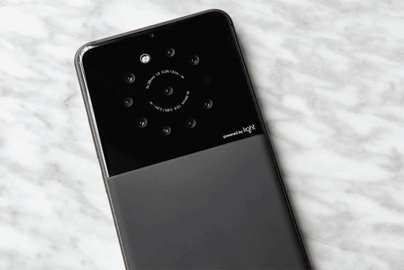 Light is reportedly working on a smartphone with 9 cameras!