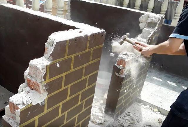 Cara Menghitung Biaya Pembongkaran Dinding Bata