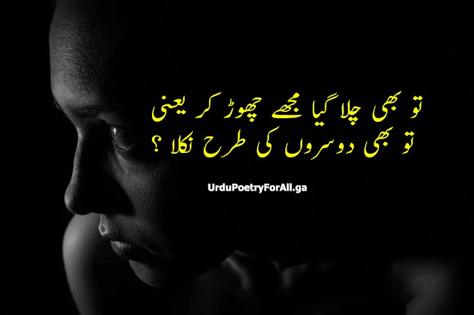 sad poetry in urdu | 2 line Poetry | roman poetry | Urdu poetry for all