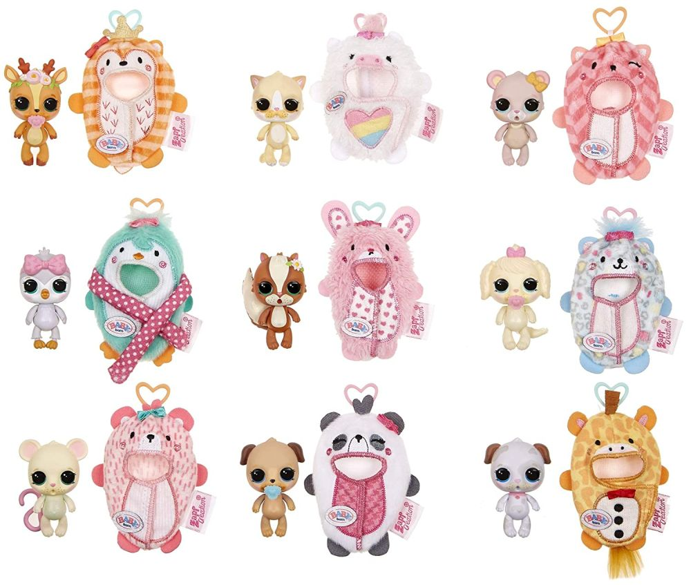 Коллекция игрушек Беби Борн Сюрприз серия 1-2