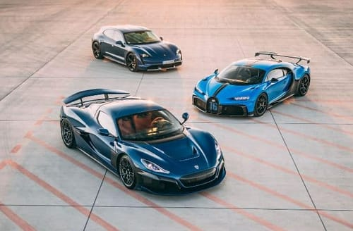 Rimac buys a Bugatti from Volkswagen