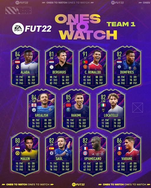 Karty OTW FIFA 22