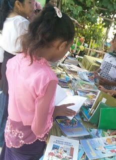 Sambut Hari Kartini, SD Ini Adakan Gerakan Membaca untuk Semua Warga Sekolah