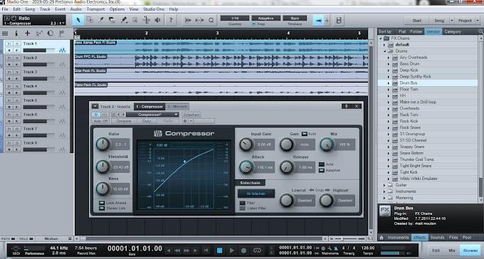 Mixing Audio Menggunakan PreSonus Studio One