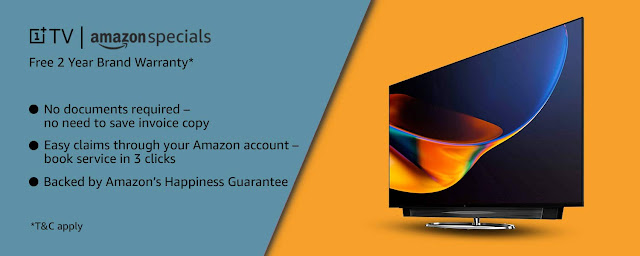 OnePlus tv 55 inch 4K Android QLED-BEST TV