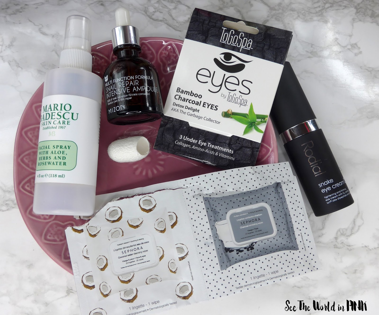 January 2019 Monthly Empties