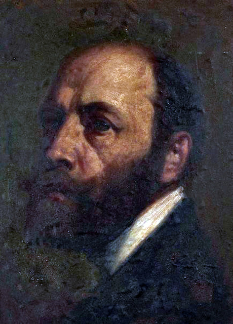 Nikolaj François Habbe, Self Portrait, Portrait of painters