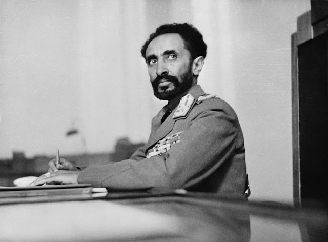 Haile Selassie 5 May 1941 worldwartwo.filminspector.com