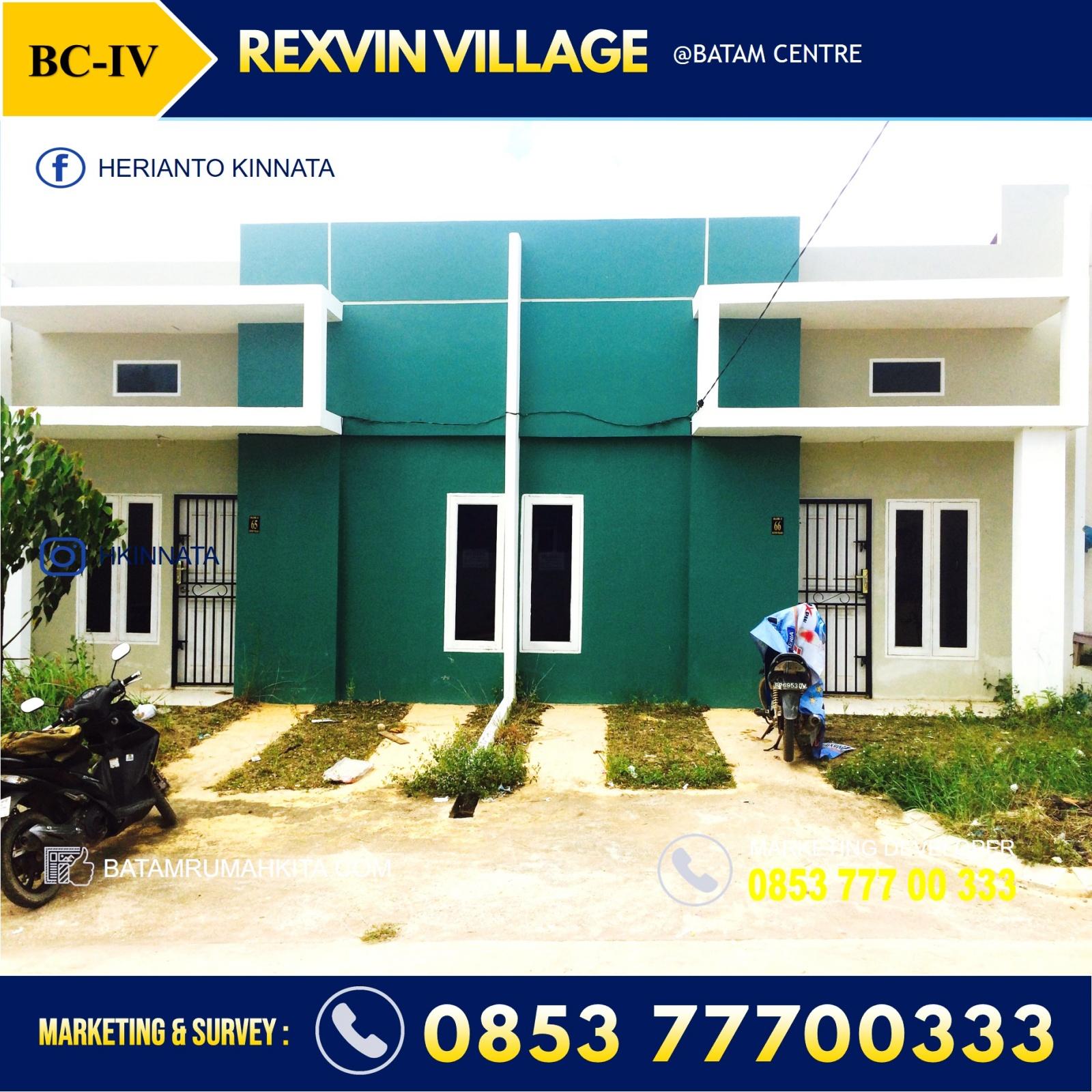 rumah Rexvin Village Batam Centre