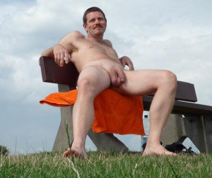 Exhibitionist Hairy Ordinary Men-5904