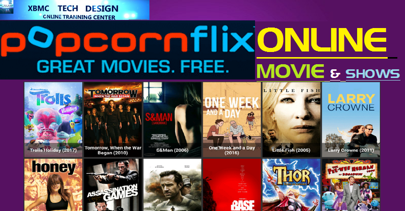 Download PopcornFlix For Watch Movies on Android,PC or Other Device Through Internet Connection with Using WebBrowser.