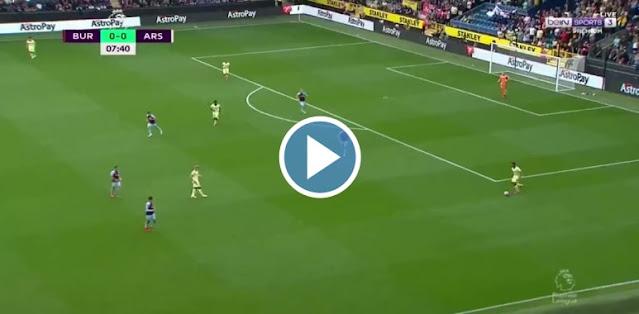 Burnley vs Arsenal Live Score