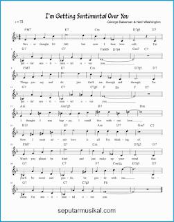 chord i'm getting sentimental over you lagu jazz standar