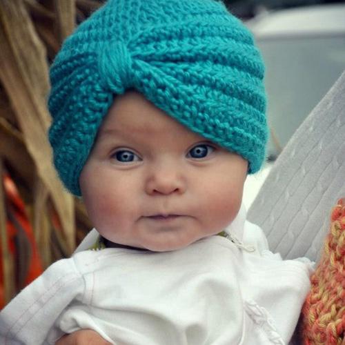 Crochet Baby Turban - Free Pattern