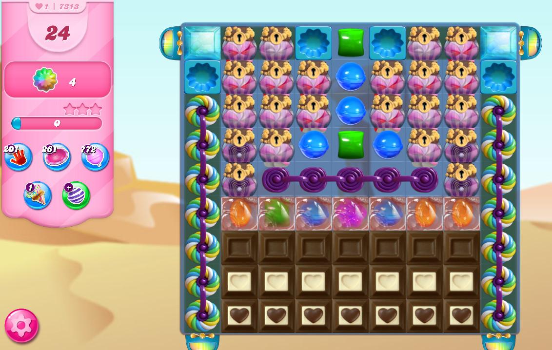 Candy Crush Saga level 7313