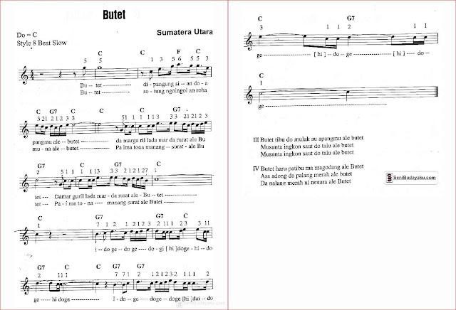gambar-lirik-dan-not-angka-lagu-butet-sumatera-utara