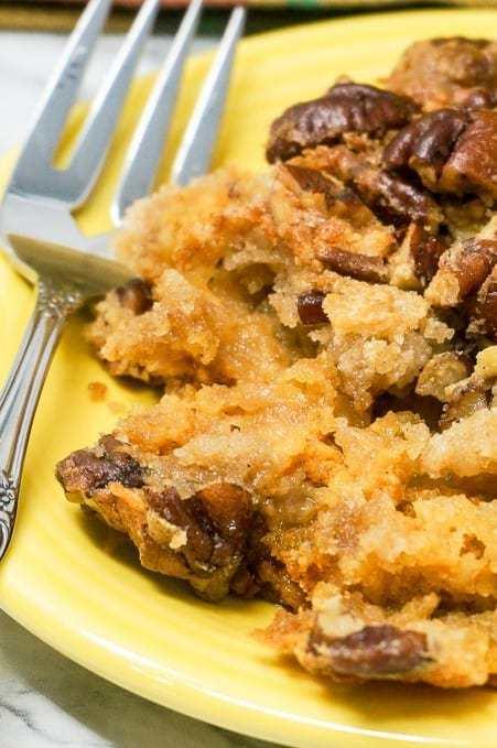 Pumpkin Crunch Dump Cake