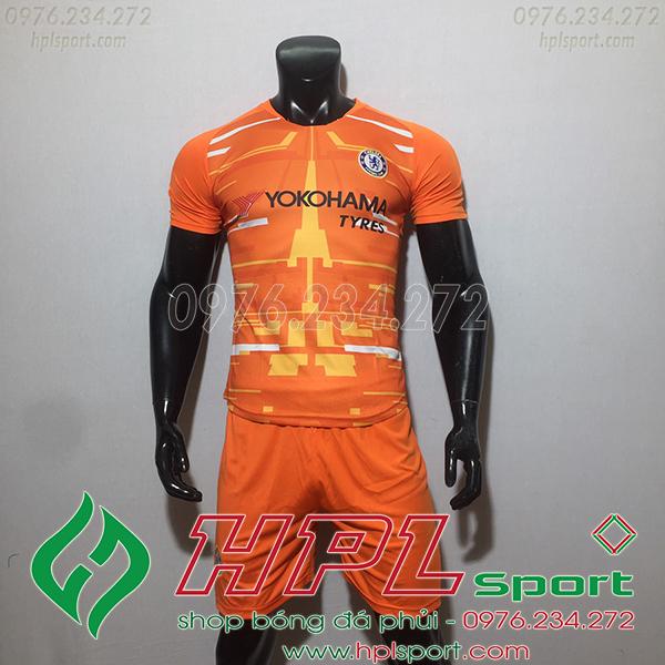 Áo CLB Chelsea TM màu cam 2020