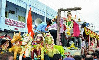 Ganesh Sobha Yatra in Nizamabad