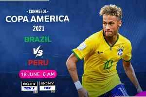 Brazil Vs Pero   ব্রাজিল বনাম পেরু লাইভ ফুটবল