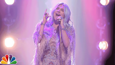 Kesha Performs 'Praying' On Tonight Show Starring Jimmy Fallon