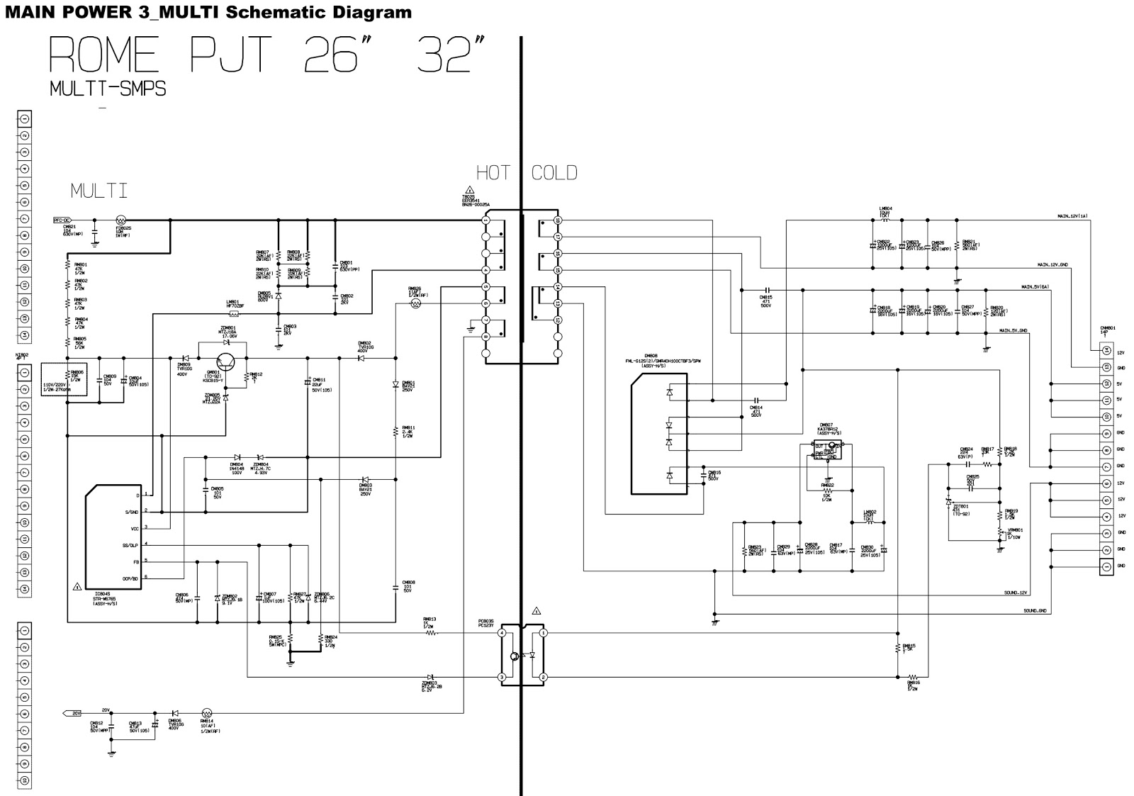 To Magnify Schematic Circuit Diagram Tv Schematic Circuit Diagram