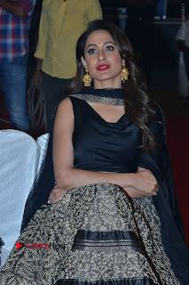 Actress Pragya Jaiswal Stills in Black Dress at Om Namo Venkatesaya Audio Launch Event  0008.JPG