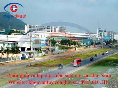 Phân phối và lắp đặt hệ thống kiểm soát cửa ra vào tại Bắc Ninh.