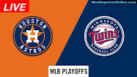 Houston-Astros-vs-Minnesota-Twins-Playoffs
