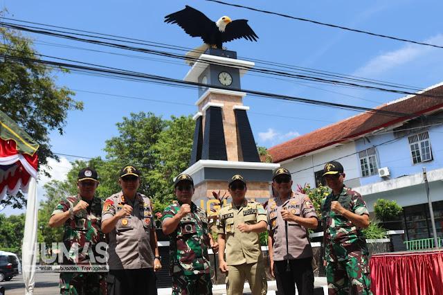 Komandan Jenderal Akademi TNI Resmikan Tugu Latsitarda di Kabupaten Trenggalek